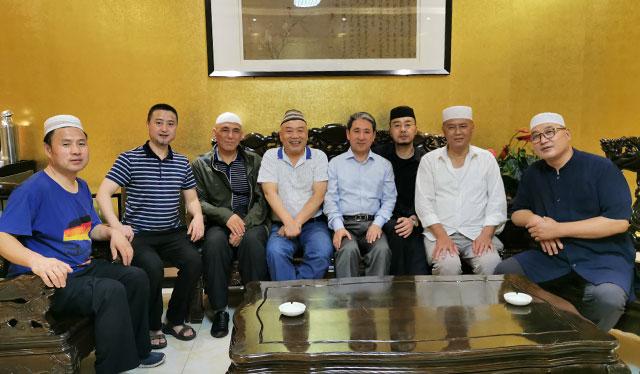 广州大学马占明教授赴西安做学术考察