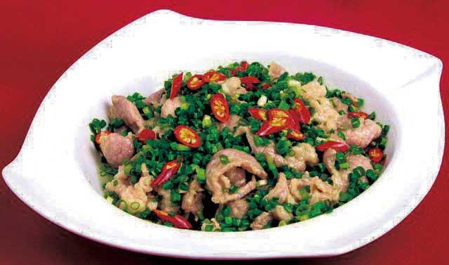 流行菜肴|葱藏肥羊