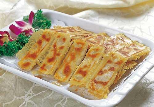 传统美食:牛肉锅贴
